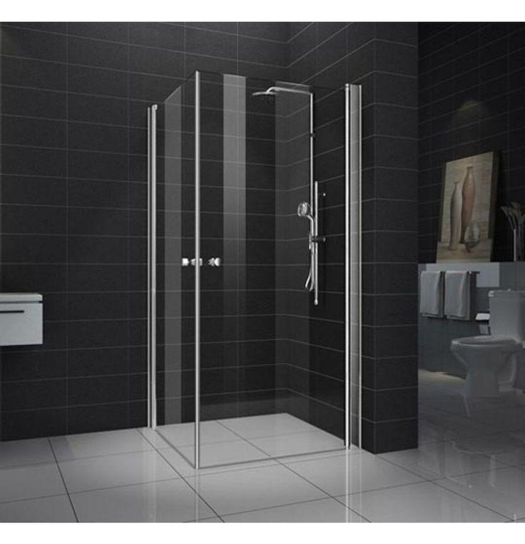 Hindware ambiente vetro shower enclosure 900 x 900 x 1950 for Bathroom designs hindware