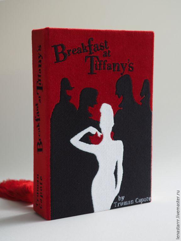 """Купить Клатч-книга """"Завтрак у Тиффани"""" - однотонный, клатч, клатч в виде книги, клатч-книга"""