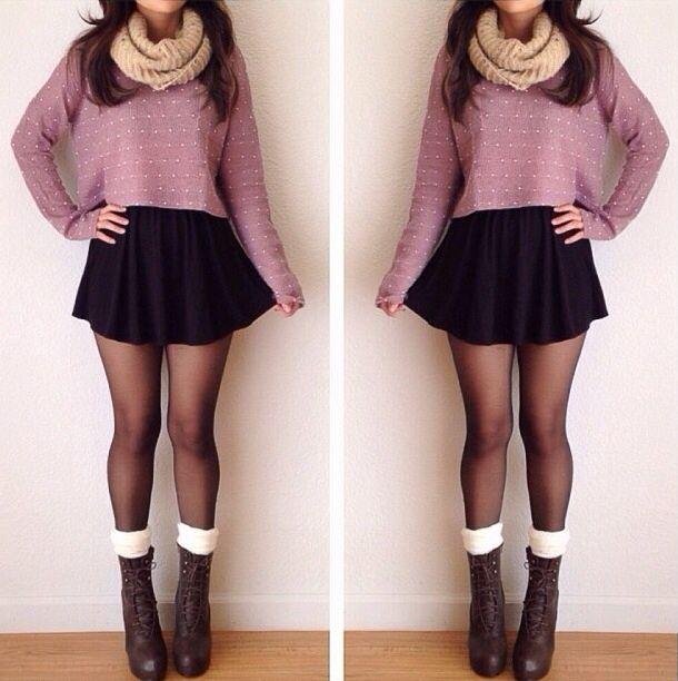 super cute fall outfit