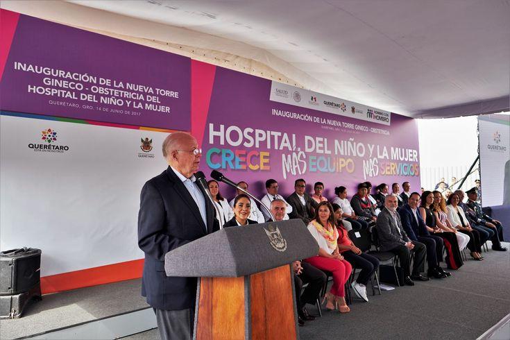 Inauguran Torre de Gineco-obstetricia del Hospital de Especialidades del Niño y la Mujer de Querétaro; trabajando con unidad y confianza para lograr resultados positivos - http://plenilunia.com/novedades-medicas/inauguran-torre-de-gineco-obstetricia-del-hospital-de-especialidades-del-nino-y-la-mujer-de-queretaro-trabajando-con-unidad-y-confianza-para-lograr-resultados-positivos/45322/
