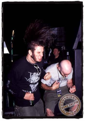 "dimebag-anselmo: "" Phil Anselmo and Scott Ian 