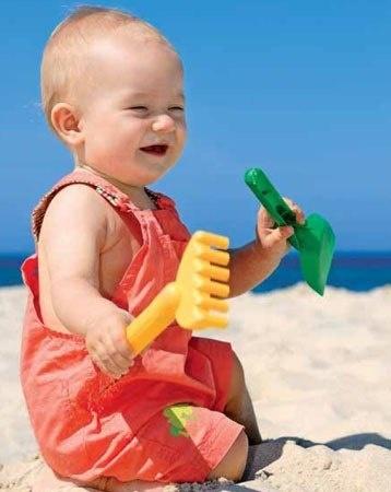 Летние игры с водой и песком