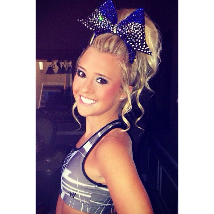 cute cheer hairstyles - 640×640