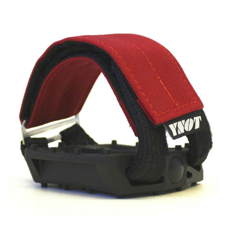 YNOT Cycle | Pedal Straps - Red
