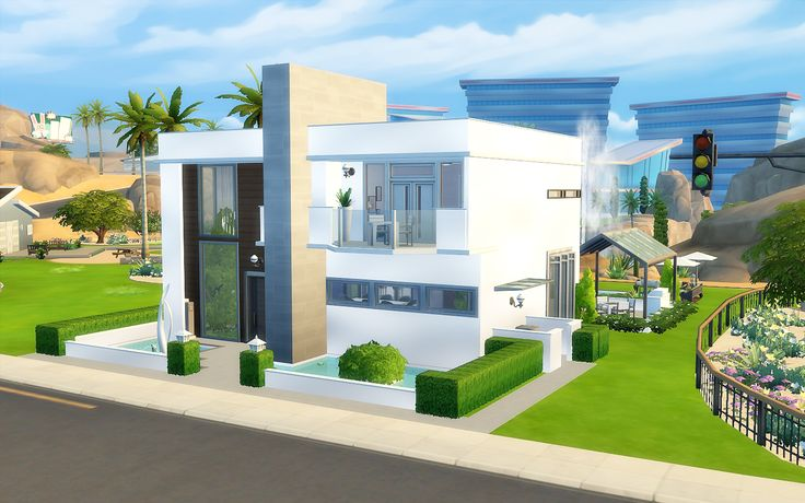 Via Sims: House 24 - The Sims 4 Mais