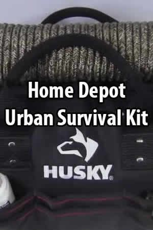 Workplace or car | Every day tactical, challenged himself to build an urban survival kit for use if he could not make it home immediately, using only items he found at Home Depot. The total cost for this kit was $235.