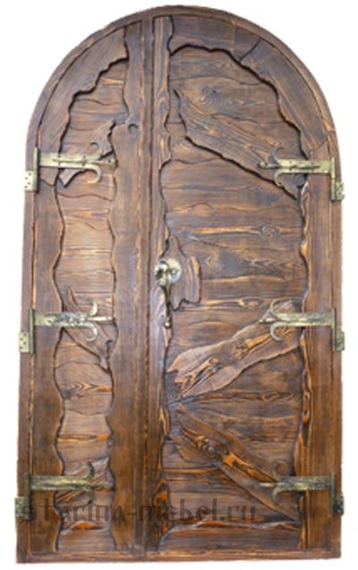 Дверь под старину  Купеческая
