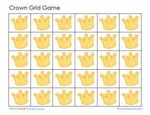 Crown Grid Game