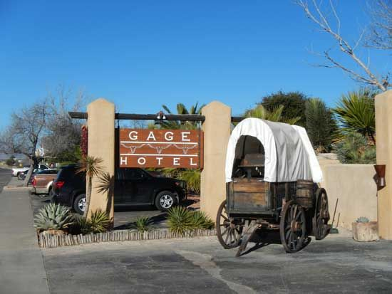 Headed out to Big Bend? If you want to do it in style, the Gage Hotel in Marathon, Texas is the best choice.