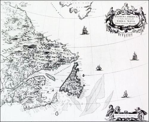 Джон Кабот - английский мореплаватель итальянского происхождения - был наречен Северным Колумбом. Как и его великий современник, Кабот был уверен, что нашел новый короткий путь в Азию.  Подробнее: http://portulan.ru/?p=1950  #Америка #Колумб #Кабот #Канада #Северная_Америка #география #старыекарты #старая_карта #история #картография #мореплавание #Ньюфаундленд #навигация #открытия #карты