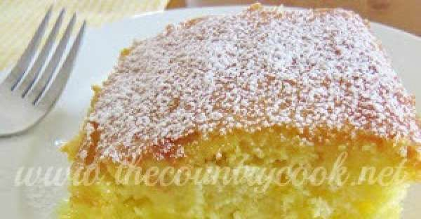 The web site blogger and recipe creator made this warm lemon pudding cake in response, at least in p ...