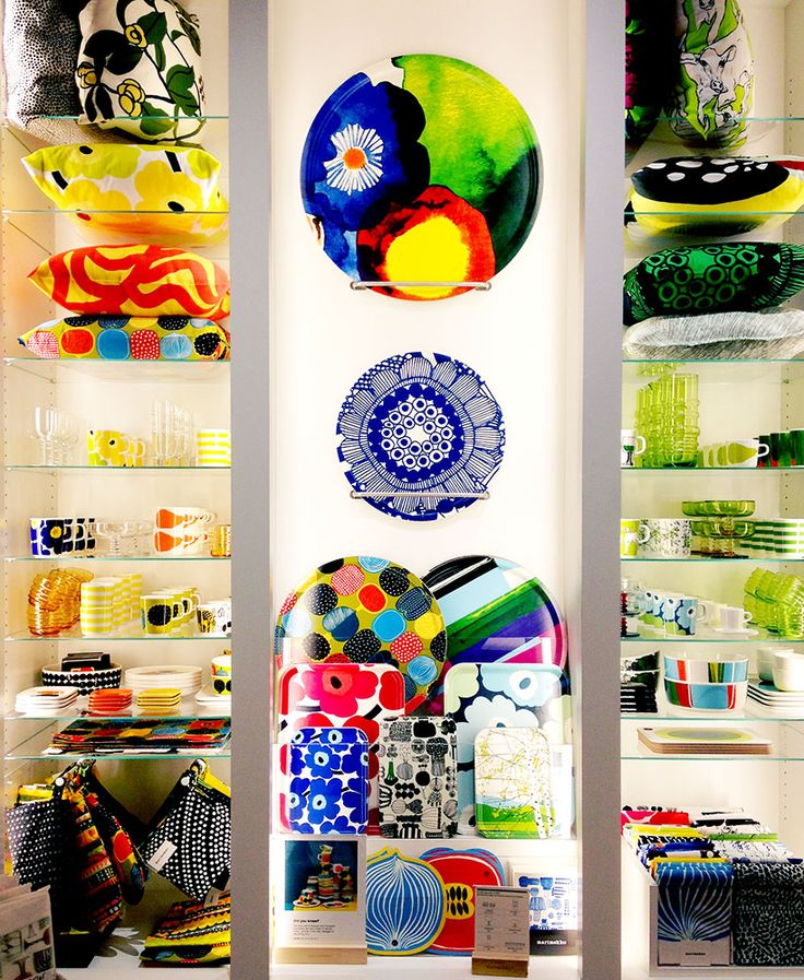 marimekko flagship store NYC via happymundane.com