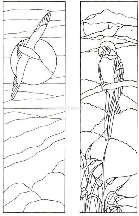 1788 best Stained Glass Birds images on Pinterest