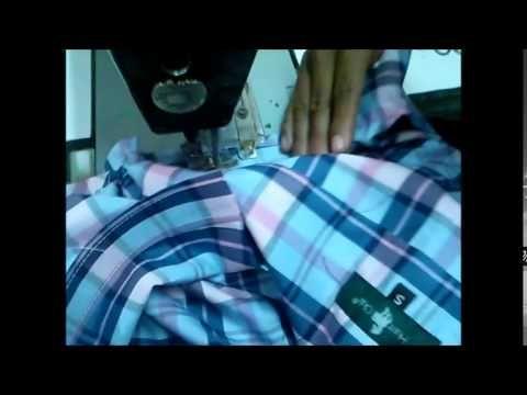 Hermenegildo Zampar - Bienvenidas TV - Explica el pegado manga de la camisa. - YouTube