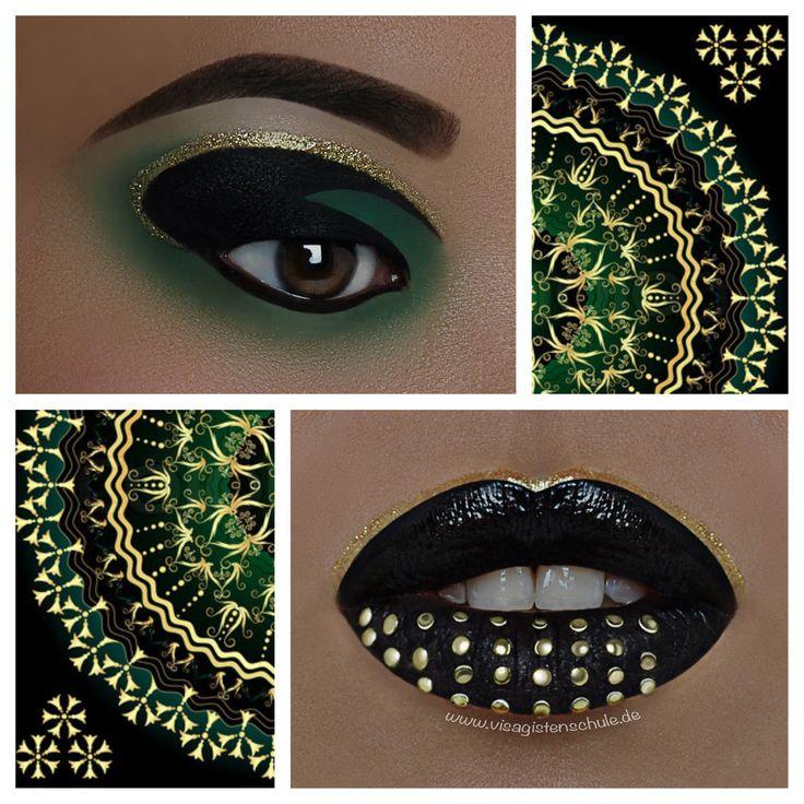 Oriental Mystery  Eyes/ Lips: Absolventin Julia Schneider Photo: MAF - Make-up Artist Factory  Mehr Infos über die Ausbildung bei uns:  http://www.visagistenschule.de/