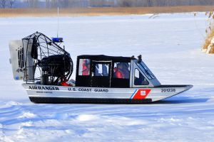 Coast Guard rescues 2 from ice in Saginaw Bay
