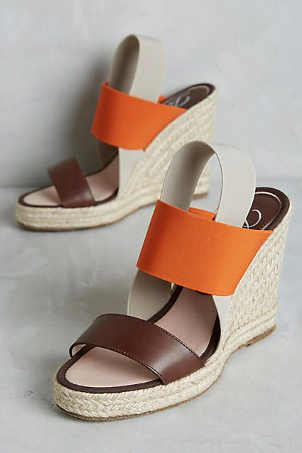 Jamie Espadrille Wedges - anthropologie.com