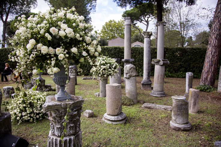What a background for a #ceremony :  2.000 years old original #roman #columns