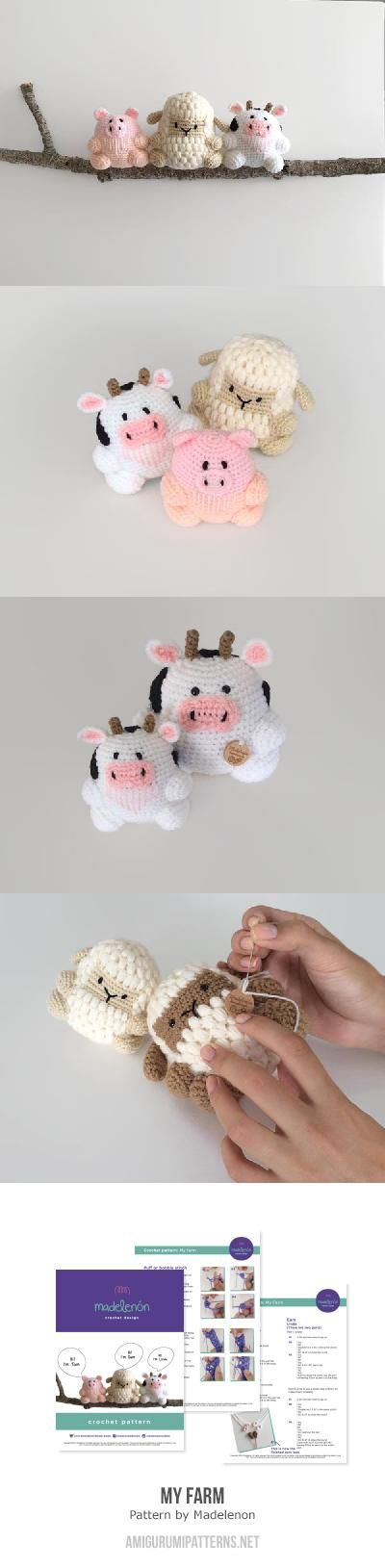 My farm amigurumi pattern by Madelenon