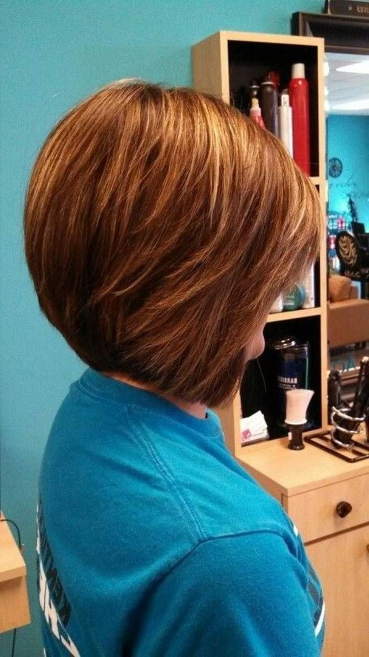 Hairstyles 2015, Short Bob Hairstyles For Thick Hair 2015: Feminine Short Bob Hairstyles 2015