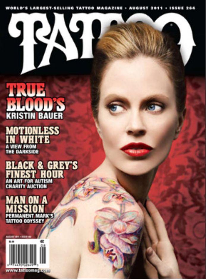 Tattoo Magazine - pam Photo