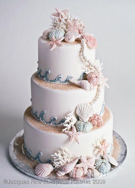 sea shells cake! lovely
