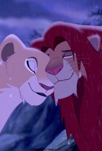 Nala <3 Simba - The Lion King (1994) #waltdisney