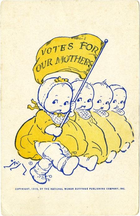 Rose O'Neill suffragist poster