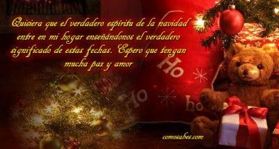Para desear las felices fiestas navideñas en nuestro muro o compartirlo en nuestras redes sociales, os invito a compartir estas hermosas imágenes para la felicidad de todos, amigos y familia en #navidad