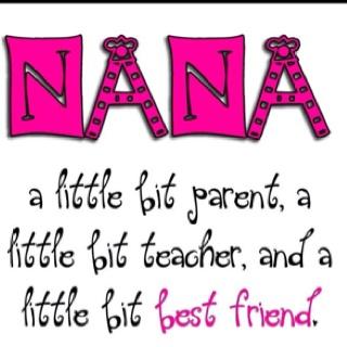 I love being a Nana!!! :))