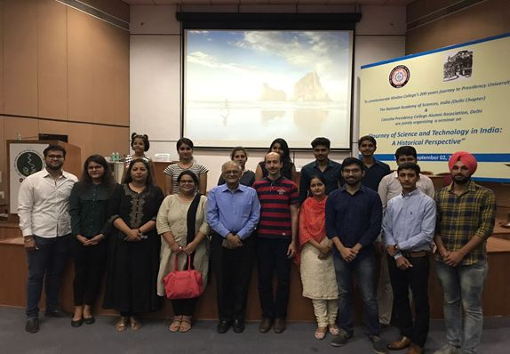 | Seminar on 'Journey of Science and Technology in India: A historical perspective' |Students from the School of Engineering and Technology and Faculty members attended a one-day seminar on 'Journey of Science and Technology in India: A historical perspective' at Jawaharlal Nehru University, New Delhi, on 2 September 2017.