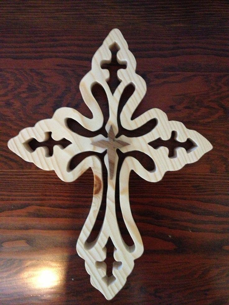 Decorative Wooden Crosses   Decorative Wood cross I made