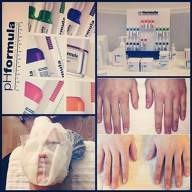 This is a great photo by @marikakyller capturing the essence of #phformula treatments! #skincare #antiageing #facial