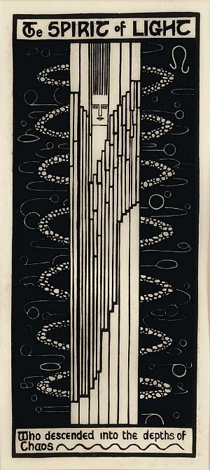Christian Waller The Spirit of Light (1931) 'Who descended into the depths of Chaos'