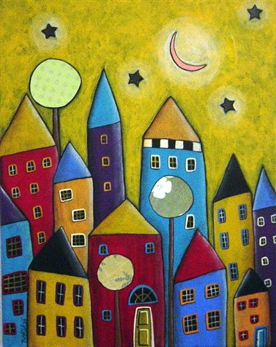 City Houses by Karla Gerard