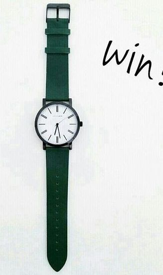 """""""GIVEAWAY // LIKE THIS WATCH TO WIN! So there's 7 days left until re-launch."""