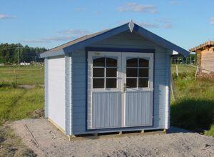 FinnPEAK | Aitat, garden sheds, friggebod, Gerätehaus | Suvi 28-4 A hirsiaitta