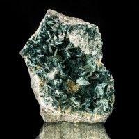 "2.1"" Rare Lustrous Dark Green GORMANITE Radiating Crystal Sprays Yukon for sale"
