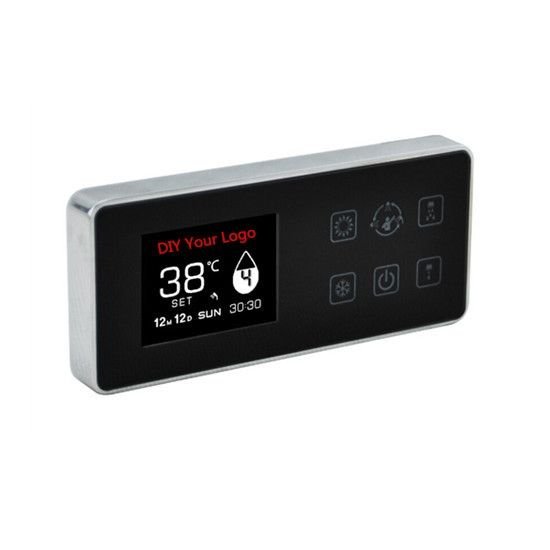 649.00$  Watch here - http://aliwys.worldwells.pw/go.php?t=32277451564 - Bathroom digital shower control panel bathroom touch shower faucet wall mounted shower mixer smart digital shower system 649.00$