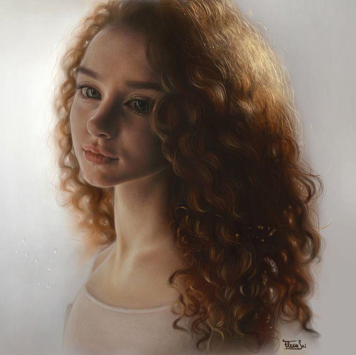 Curly by ElenaSai on DeviantArt