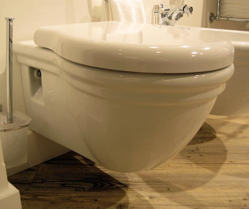 Paestum Wall Hung WC Pan with 570mm Projection