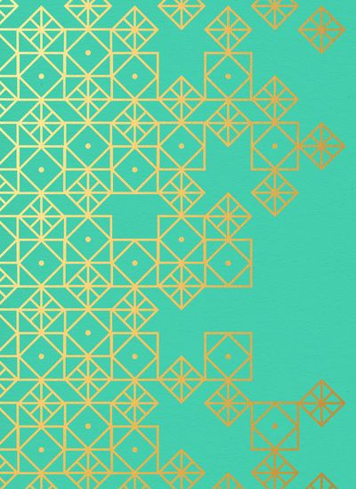 Geometric Turquoise Art Print | Cat Coquillette | re-pin by www.stone-age.co.uk | #geometry #pattern #art #design