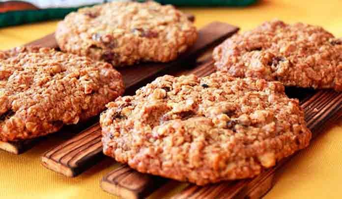 Рецепт овсяного печенья из овсяных хлопьев диетическое | Готовим рецепты