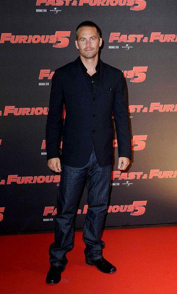 "Paul Walker Photos: The Rome Premiere of ""Fast Five"""