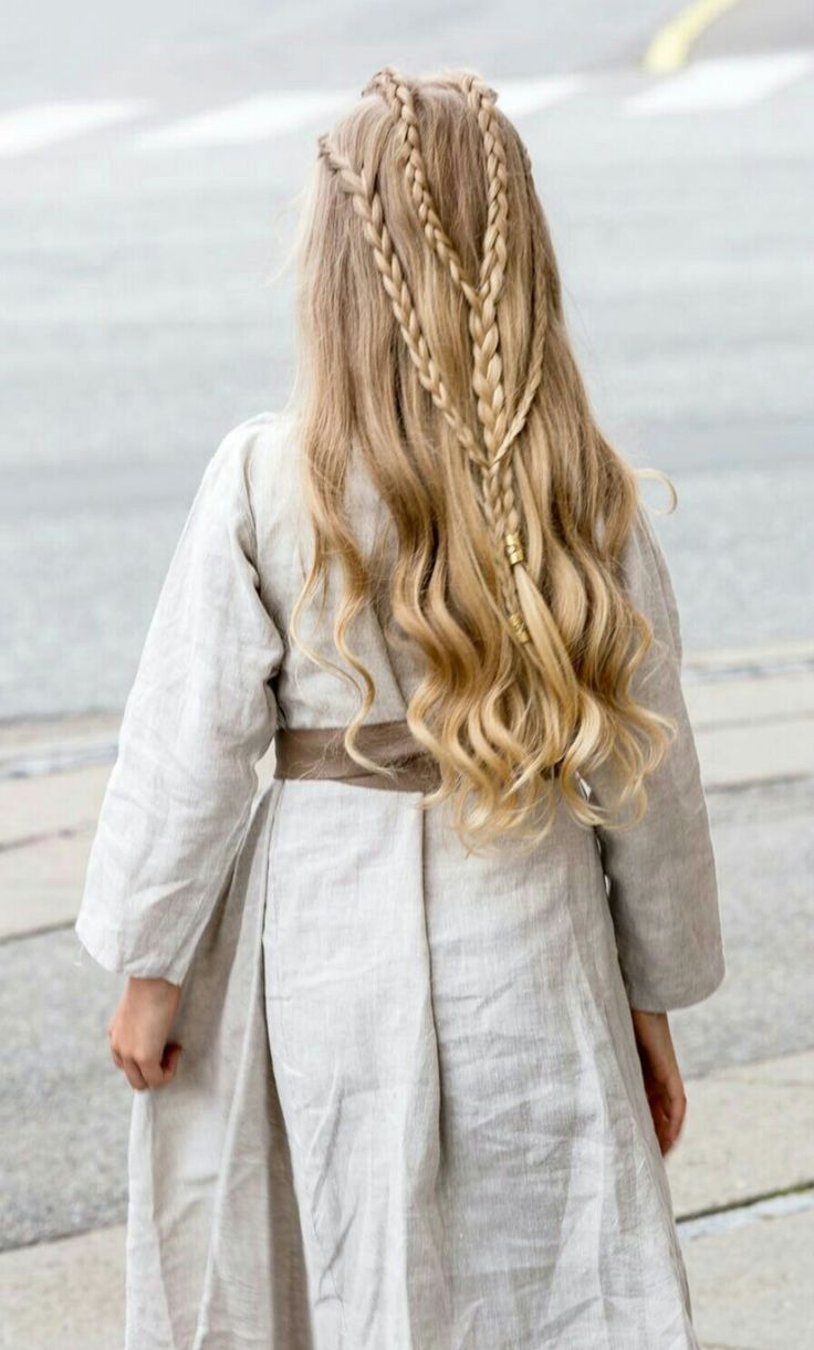 Viking Braided Hairstyle By Annette Collins Viking