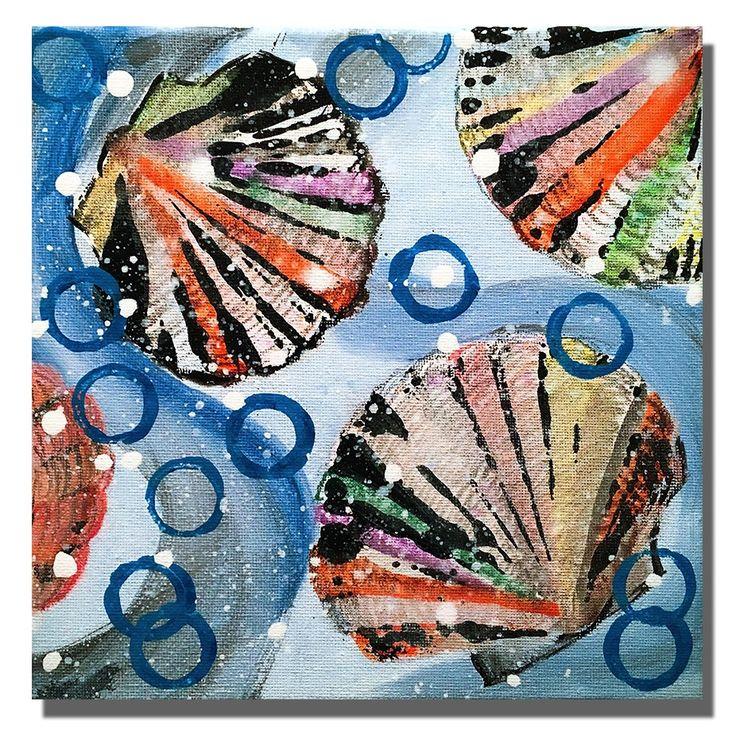handpainted oil painting on Canvas Art Abstract Seashell