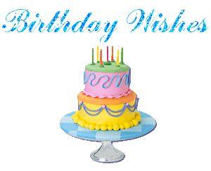 Animated Birthday Cards   free happy birthday cards glitter animation