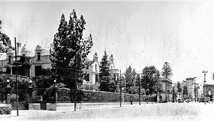 Embajada de Rusia, desde 1942, en José Vasconcelos, antes Av. Tacubaya.