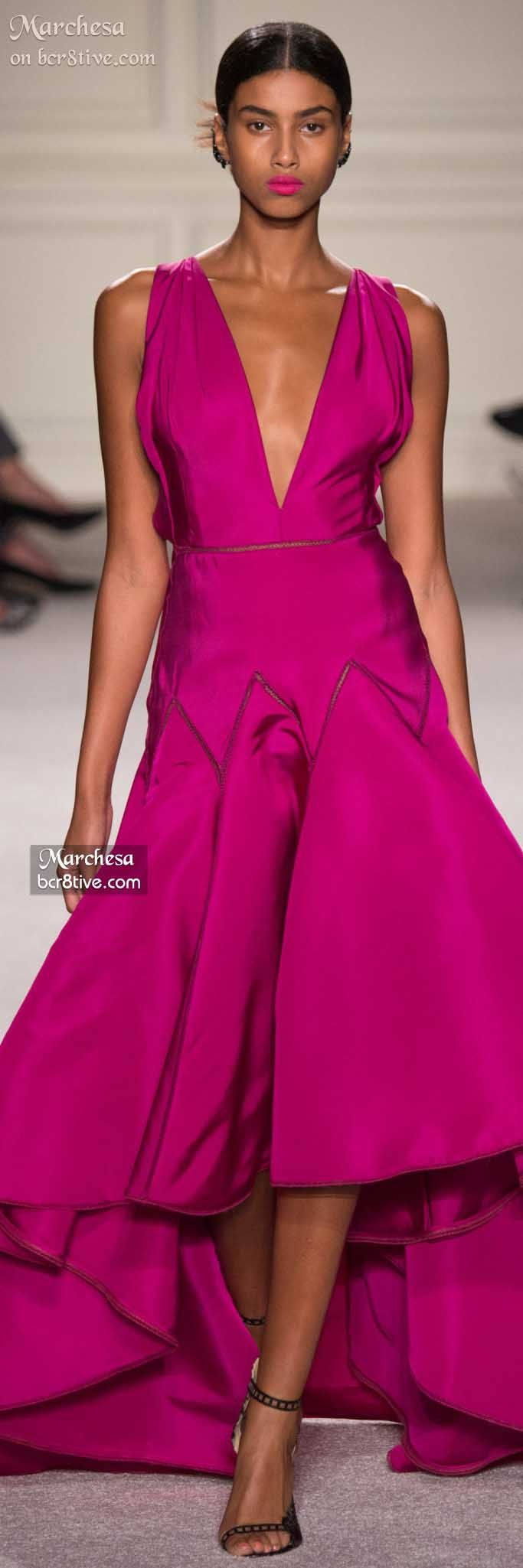 "Marchesa Spring 2016 ""And the LORD said to Moses, ""Go to the people and consecrate them today and tomorrow. Have them wash their clothes."" Exodus 19:10"