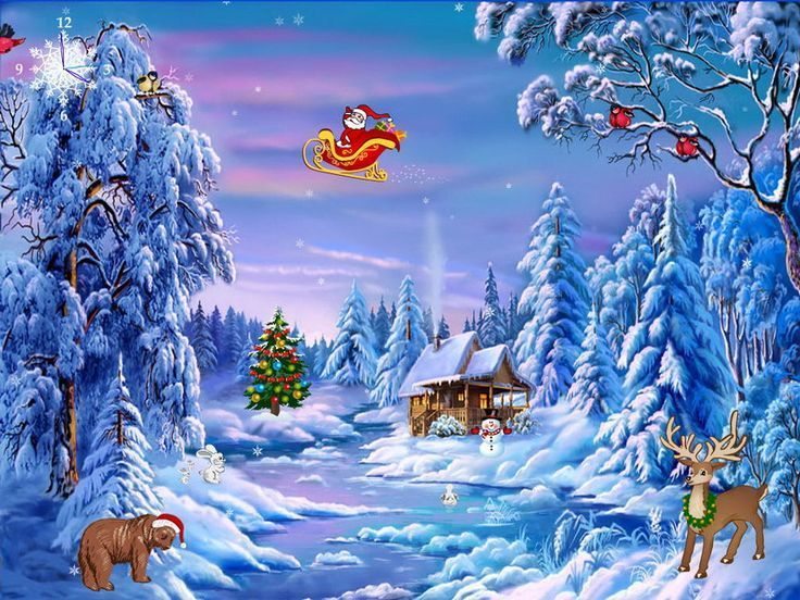 Free Animated Christmas Screensavers